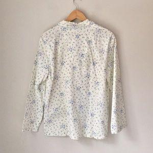 0b872d7cb696 Amanda Stewart Intimates & Sleepwear - Amanda Stewart Floral Flannel  Pajamas Size M NWT